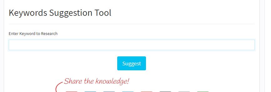 Keywords Suggestion Tool Top 12 Black Hat SEO Tools 2018